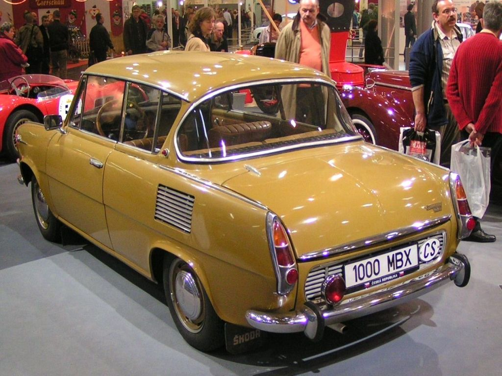 Skoda 1000 MB Coupe